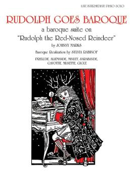 "Rudolph Goes Baroque: Baroque Suite on ""Rudolph the Red-Nosed Reindeer (AL-00-PA02401)"