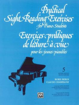 Practical Sight Reading Exercises for Piano Students, Book 5 (AL-00-V1035)