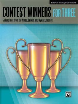 Contest Winners for Three, Book 2: 5 Piano Trios from the Alfred, Belw (AL-00-41980)