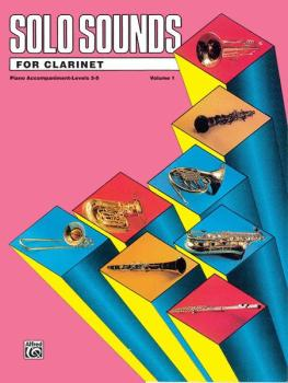 Solo Sounds for Clarinet, Levels 3-5 (AL-00-EL03334)