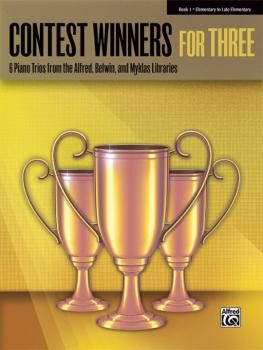 Contest Winners for Three, Book 1: 6 Piano Trios from the Alfred, Belw (AL-00-41979)