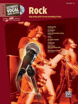 Ultimate Vocal Sing-Along: Rock (Male Voice) (AL-00-26520)