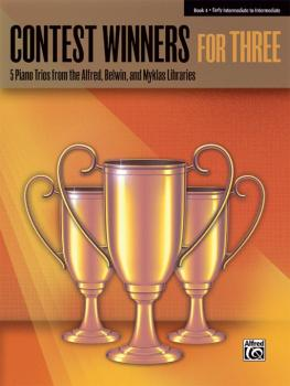 Contest Winners for Three, Book 4: 5 Piano Trios from the Alfred, Belw (AL-00-41982)