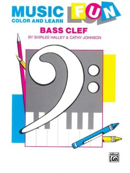 Music Fun: Color and Learn (Bass Clef) (AL-00-EL03374)