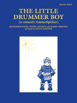 The Little Drummer Boy: A Concert Transcription (AL-00-PA02449)