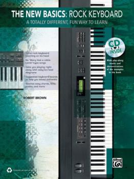 The New Basics: Rock Keyboard: A Totally Different, Fun Way to Learn (AL-00-39259)