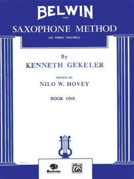 Belwin Saxophone Method, Book I (AL-00-EL00375)