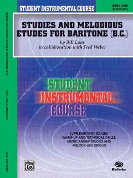 Student Instrumental Course: Studies and Melodious Etudes for Baritone (AL-00-BIC00162A)