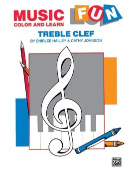 Music Fun: Color and Learn (Treble Clef) (AL-00-EL03373)