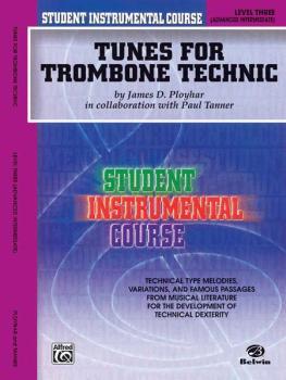 Student Instrumental Course: Tunes for Trombone Technic, Level III (AL-00-BIC00358A)