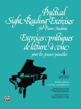 Practical Sight Reading Exercises for Piano Students, Book 4 (AL-00-V1034)