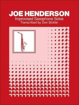Improvised Saxophone Solos: Joe Henderson (AL-00-SB284)