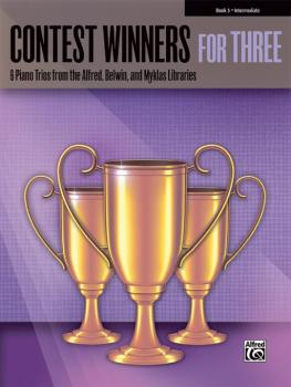 Contest Winners for Three, Book 5: 6 Piano Trios from the Alfred, Belw (AL-00-41983)