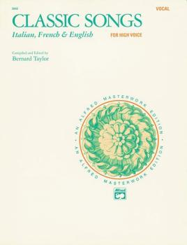 Classic Songs: Italian, French & English (AL-00-3542)