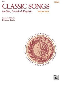Classic Songs: Italian, French & English (AL-00-3543)