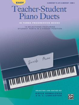 Easy Teacher-Student Piano Duets in Three Progressive Books, Book 2: 1 (AL-00-46129)