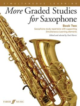 More Graded Studies for Saxophone, Book Two: Saxophone Study Repertoir (AL-12-0571539521)
