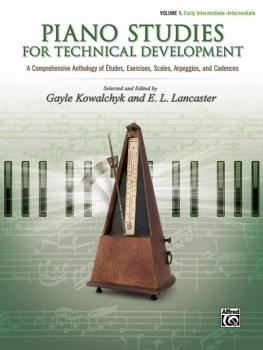 Piano Studies for Technical Development, Volume 1: A Comprehensive Ant (AL-00-46137)