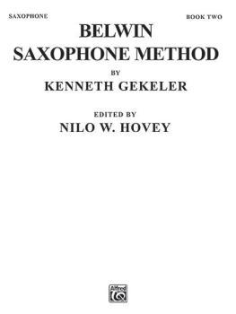 Belwin Saxophone Method, Book II (AL-00-EL00376)