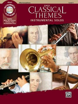 Easy Classical Themes Instrumental Solos (AL-00-47050)