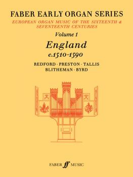 Faber Early Organ Series, Volume 1 (England 1510-1590) (AL-12-0571507719)