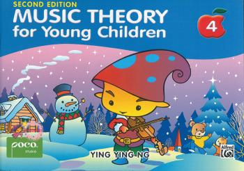 Music Theory for Young Children, Book 4 (Second Edition) (AL-99-9671250432)