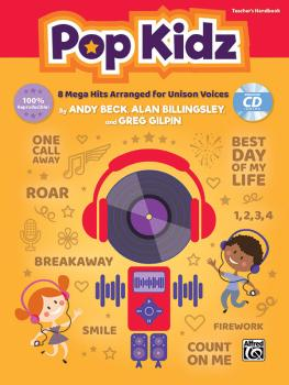 Pop Kidz: 8 Mega Hits Arranged for Unison Voices (AL-00-46842)