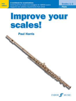 Improve Your Scales! Flute, Grades 1-3: A Workbook for Examinations (AL-12-0571540503)