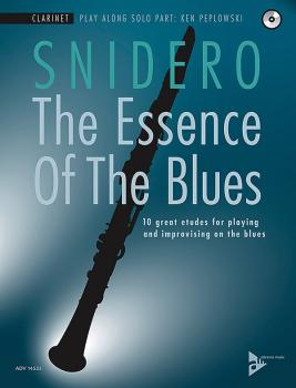 The Essence of the Blues: Clarinet in B-flat: 10 Great Etudes for Play (AL-01-ADV14535)