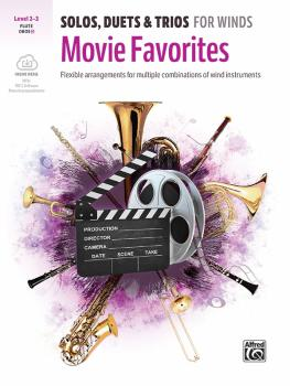 Solos, Duets & Trios for Winds: Movie Favorites: Flexible Arrangements (AL-00-47826)