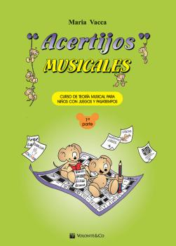 Acertijos Musicales, Parte 1: Curso de Teoria Musical Para Ninos Con J (AL-99-MB517)