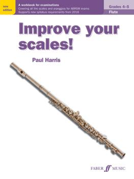Improve Your Scales! Flute, Grades 4-5: A Workbook for Examinations (AL-12-0571540511)