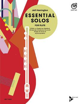 Essential Solos for Flute: 28 Solos on Popular Jazz Standards (AL-01-ADV14830)