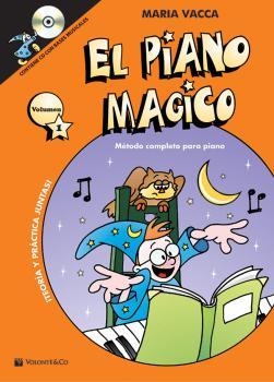 El Piano Magico Primer Volumen: Metodo completo para piano (AL-99-MB575)