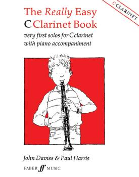The Really Easy C Clarinet Book: Very First Solos for C Clarinet with  (AL-12-0571511473)
