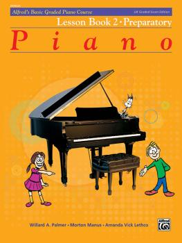 Alfred's Basic Graded Piano Course, Lesson Book 2 (Preparatory) (AL-00-20182UK)