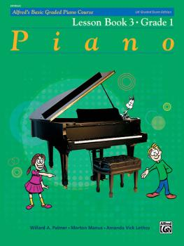 Alfred's Basic Graded Piano Course, Lesson Book 3 (Grade 1) (AL-00-20183UK)