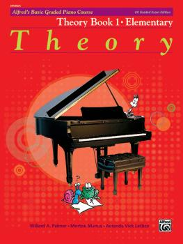 Alfred's Basic Graded Piano Course, Theory Book 1 (Elementary) (AL-00-20184UK)