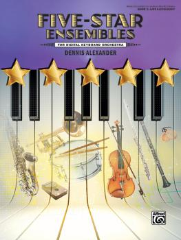 Five-Star Ensembles, Book 3 (For Digital Keyboard Orchestra) (AL-00-47921)