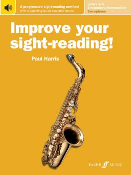 Improve Your Sight-Reading! Saxophone, Levels 1-5 (Elementary-Intermed (AL-12-0571540880)