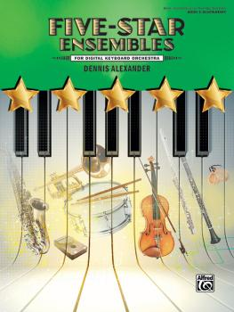 Five-Star Ensembles, Book 2 (For Digital Keyboard Orchestra) (AL-00-47920)
