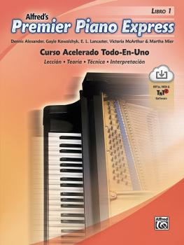 Premier Piano Express: Spanish Edition, Libro 1: An All-In-One Acceler (AL-00-47923)