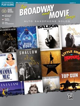 Top Broadway and Movie Songs (Alto Saxophone Solos) (AL-00-47969)