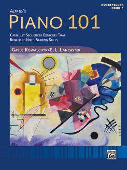 Piano 101: Notespeller, Book 1: Carefully Sequenced Exercises That Rei (AL-00-48031)