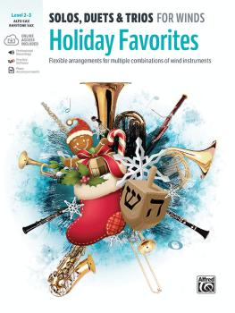 Solos, Duets & Trios for Winds: Holiday Favorites: Flexible Arrangemen (AL-00-48014)