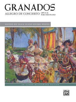 Granados: Allegro de Concierto, Op. 46 (AL-00-47909)