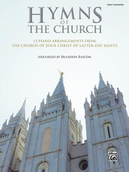 Hymns of The Church: 12 Piano Arrangements from The Church of Jesus Ch (AL-00-47911)