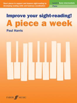 Improve Your Sight-Reading! A Piece a Week: Piano, Level 4 (AL-12-0571541445)