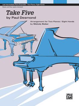 Take Five (2p, 8h) (Arrangement for Two Pianos / Eight Hands) (AL-00-48593)