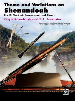 Theme and Variations on Shenandoah (For B-flat Clarinet, Percussion, a (AL-00-48655)